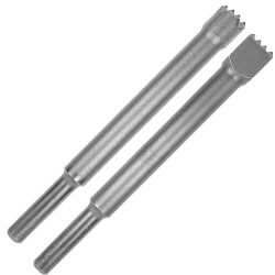 CARBIDE BUSH HAMMERS LONG PNEUMATIC SHANK 12.5 MM