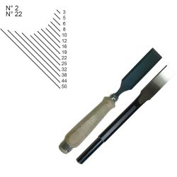 WOOD CARVING CHISELS Z02-Z22