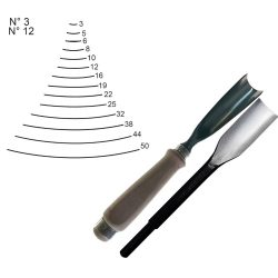 WOOD CARVING CHISELS Z03-Z12