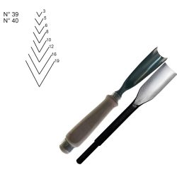 WOOD CARVING CHISELS Z39-Z40