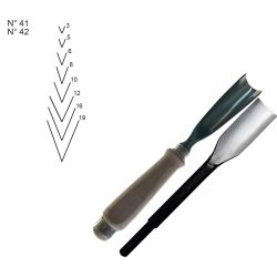 WOOD CARVING CHISELS Z41-Z42